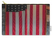 Us Flag At Whiteface Mountain Ny Carry-all Pouch