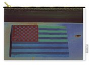 Us Flag On Wall Casa Grande Arizona 2004-2008 Carry-all Pouch