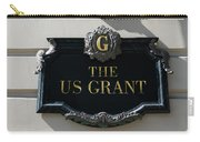 Us Grant Corner Plaque Carry-all Pouch