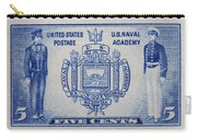 Us Naval Academy Postage Stamp Carry-all Pouch