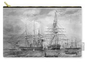 U.s. Naval Fleet During The Civil War Carry-all Pouch