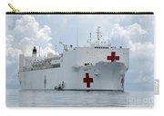 U.s. Naval Hospital Ship Usns Mercy Carry-all Pouch