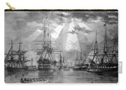 U.s. Naval Ships At The Brooklyn Navy Yard Carry-all Pouch