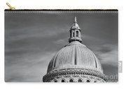 U.s. Naval Academy Chapel Dome Bw Carry-all Pouch