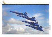 Us Navy - Blue Angels Carry-all Pouch