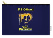 U.s. Official War Pictures Carry-all Pouch