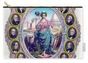 Us Presidents And Lady Liberty  Carry-all Pouch