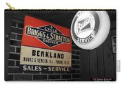 Us Route 66 Briggs And Stratton Signage Sc Carry-all Pouch
