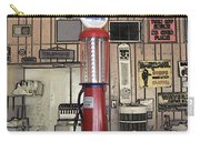 Us Route 66 Smaterjax Dwight Il Gas Pump 01 Pa 02 Carry-all Pouch