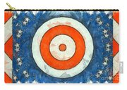 Usa Flag Abstract Carry-all Pouch