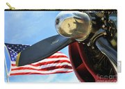 Usa Flag Bomber Wwii  Carry-all Pouch