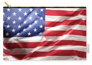 Usa Flag Detail Carry-all Pouch