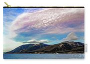 Ushuaia, Ar, Clouds Over Mountains Carry-all Pouch