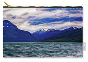 Ushuaia Ar Ocean Mountains Clouds Carry-all Pouch