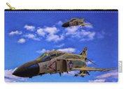 Usn F-4 Phantom II Over Vietnam - Oil Carry-all Pouch