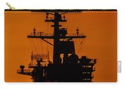 Uss Carl Vinson At Sunset 2 Carry-all Pouch