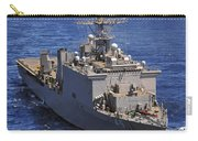 Uss Comstock Leads A Convoy Of Ships Carry-all Pouch