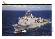 Uss Comstock Transits The Indian Ocean Carry-all Pouch