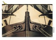 Uss Constellation Carry-all Pouch by Lisa Russo
