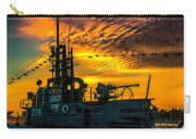 U.s.s. Silversides Sunset Carry-all Pouch