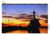 Uss Spruance Is Pierside At Naval Carry-all Pouch