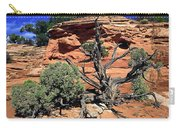 Utah Juniper And Red Rock Carry-all Pouch