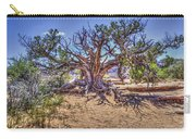 Utah Juniper On The Climb To Delicate Arch Arches National Park Carry-all Pouch