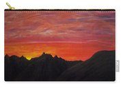 Utah Sunset Carry-all Pouch by Michael Cuozzo