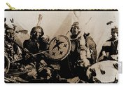 Ute Tribe In Council Carry-all Pouch