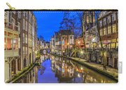 Utrecht From The Bridge By Night Carry-all Pouch