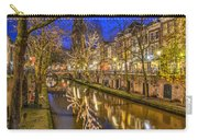 Utrecht Old Canal By Night Carry-all Pouch