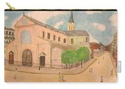 Utrillo And Church Seasonal Change In Paris By Japanese Artist Carry-all Pouch