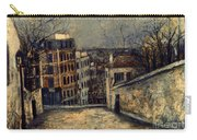Utrillo: Mont-cenis Carry-all Pouch