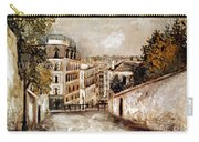 Utrillo: Montmartre, 20th C Carry-all Pouch
