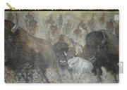 Uttc - Buffalo Mural Left Panel Carry-all Pouch