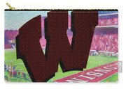 Uw Game Day Poster - Oil Carry-all Pouch