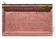 Uw Red Gym Plaque Carry-all Pouch