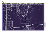 Uw Street Map - University Of Washington Seattle Map Carry-all Pouch