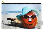 Vacationing Jack-o-lantern Carry-all Pouch