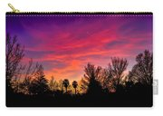 Vacaville Sunset Silhouette  Carry-all Pouch