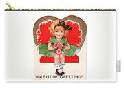 Valentine Greetings Carry-all Pouch