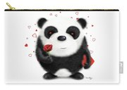Valentine's Panda Carry-all Pouch