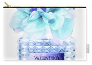 Valentino Blue Perfume Carry-all Pouch