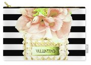 Valentino Perfume With Flower Carry-all Pouch