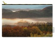 Valley Fog At Sunrise One Carry-all Pouch