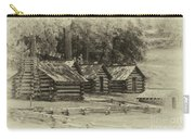 Valley Forge Barracks In Sepia Carry-all Pouch