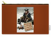 Valley Forge Soldier - Conservation Propaganda Carry-all Pouch