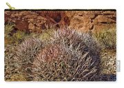 Valley Of Fire Barrels Carry-all Pouch