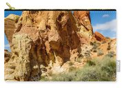 Valley Of Fire - Face In The Rock Carry-all Pouch