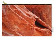 Valley Of Fire Mouse's Tank Sandstone Wall Portrait Carry-all Pouch